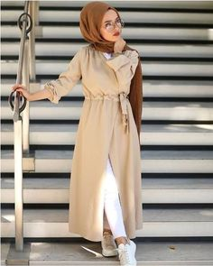 wrapped dress-Casual hijab summer looks – Just Trendy Girls