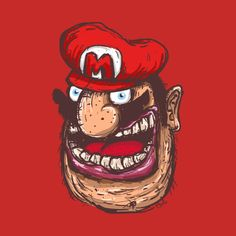 Check out this awesome 'Mario' design on @TeePublic!