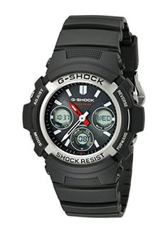 Men's Wrist Watches - Casio Mens AWRM1001ADR Gshock  Multiband Solar Tough Analog Watch -- Read more reviews of the product by visiting the link on the image. (This is an Amazon affiliate link)