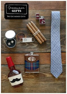 Wedding Day Gifts For the Groom and Groomsmen