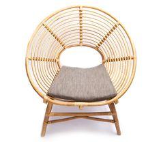 Ringo Low Rattan Chair- $438