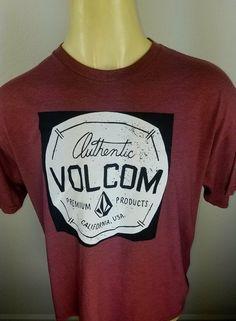 volcom xl mens t-shirt