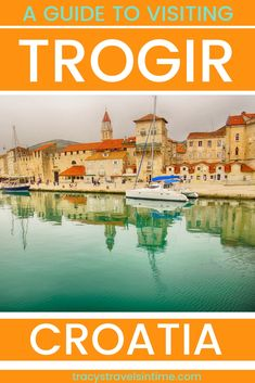 Visiting Trogir from Split is an easy day excursion. Find out what to do and see in Trogir a UNESCO World Heritage listed town in Croatia. Croatia Travel Guide, Europe Travel Tips, Spain Travel, Travel Destinations, Backpacking Europe, Travel Deals, Travel Guides, European Destination, European Travel