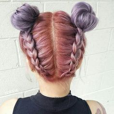 Brb... doing our hair like this until further notice  Buns by @bescene @hairbyapes #hairspiration