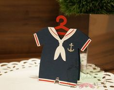 Convite para Chá de bebê Marinheiro