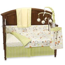 Sumersault Pop Dot 10-Piece Crib Bedding Set - buybuybaby.com