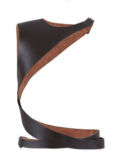 Lanvin Leather Harness Belt