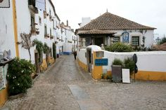 Obidos Street - Travel in Portugal Photos