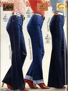 Jeans from the 70's