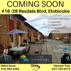 28 Rexdale Blvd, Toronto, ON View Photos, Townhouse, Toronto, Condo, Real Estate, Outdoor Decor, Terraced House, Real Estates