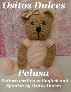 PATTERN: Pelusa Amigurumi Pattern in English and by OsitosDulces