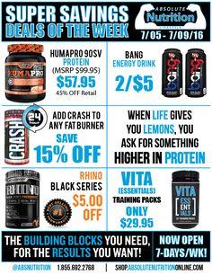 105 Best Absolute Nutrition Deals Images Nutrition Nutrition Store Preworkout