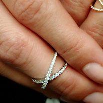Diamond X Rings - Plukka - Shop Fine Jewelry Online