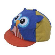 EOZY Tapa Sombrero Gorra Infantil Para Bebé Niños De Deportiva Diseño De Búho Azul Y Amarillo de EOZY, http://www.amazon.es/dp/B00IZ173S8/ref=cm_sw_r_pi_dp_Wvoutb02EDN9A