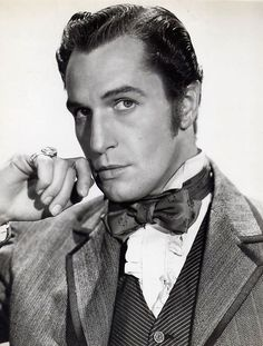 "Vincent Price in ""Dragonwyck"" He is one of my all time favorite actors! Hooray For Hollywood, Hollywood Stars, Classic Hollywood, Old Hollywood, Old Movie Stars, Classic Movie Stars, Classic Movies, Vincent Price, Dramas"