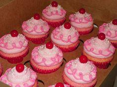 Adorable for a Pinkalicious party! from Plumeria cake studio in CA 1st Birthday Girls, 2nd Birthday Parties, Birthday Fun, Birthday Ideas, Minnie Birthday, Kid Parties, Princess Birthday, Love Cupcakes, Birthday Cupcakes