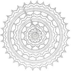 New Screen Crochet pillow mandala Suggestions Tinas Handwerk: 82 Designs und Muster Dreamcatcher & Mandala – Diy Bastel Ideen Crochet Doily Rug, Crochet Mandala Pattern, Crochet Diagram, Crochet Round, Crochet Squares, Diy Crochet, Crochet Tablecloth, Blanket Crochet, Crochet Shawl