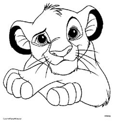 find this pin and more on disney lion coloring pages - Disney Coloring Pages Online