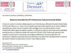 Nuova Demar Inerti (Cosenza) a cura di Piero De Marco (366 507 9505) - Fase test e risultati finali - Testimonianze