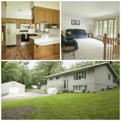 Country living on the edge of town! Escape to 3 acres of heavily wooded seclusion just north of Sauk Rapids. Home has 3 bedrooms, 2 baths, a great sun room, 1,600 square feet, a 32 x 20 heated shop & lots of room to play and entertain outdoors! #home #centralMN
