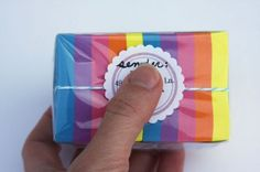 """mail a rainbow of post it notes. """"Hope your year is note-worthy"""" good idea for a college student Missionary Care Packages, Deployment Gifts, Mail Gifts, Fun Mail, Page Marker, Creative Gifts, Creative Ideas, Happy Mail, Mail Art"""