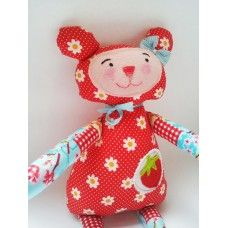 Adorable Bear Doll with strawberry