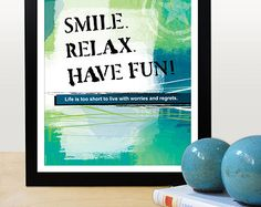 A3 Motivational poster with inspiring quote. by inspiring4U