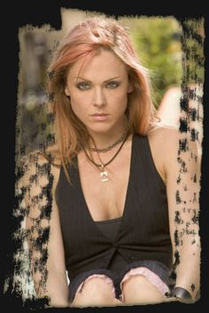 Storm Large - I met this badass this past Saturday. She is really darn cool.