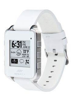 MetaWatch, Android connected SmartWatch, on PCmag.