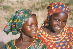 Two African girls