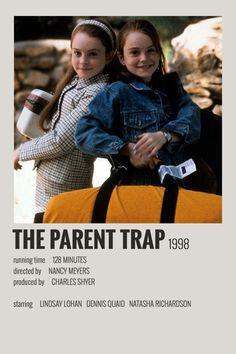 Alternative Minimalist Movie / Show Polaroid Poster – The Parent Trap Iconic Movie Posters, Minimal Movie Posters, Movie Poster Art, Iconic Movies, Poster Wall, Poster Series, Film Polaroid, Polaroids, Parent Trap