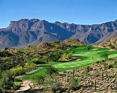 My dad & I went to Phoenix on golf trips in high school and I remember playing the Dinosaur Course (Mountain Course) at Golf Canyon in Apache Junction and taking a picture at every tee box. I never seen anything like it before due to only playing midwest courses. It is a must play if your in the Phoenix area and don't forget your camera!