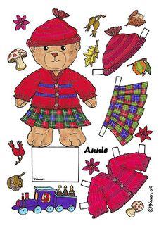 Karen`s Paper Dolls: Annie