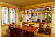 Residential Gallery – Prairie Architect – WEST STUDIO Prairie Style Houses, Craftsman Interior, Bungalow Homes, Craftsman Bungalows, Organic Modern, My House, Building A House, Home And Family, New Homes