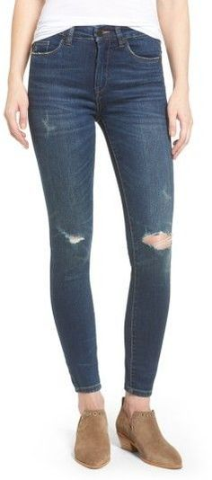 7a3119ae650a Classy Dresses for Women - Women s Blanknyc Ripped Skinny Jeans fall  fashion