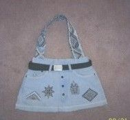 Lined Jean purse how to