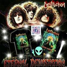 Camisa Destruction