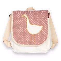 Milkbarn Organic Toddler Backpack (Rose Dot Goose) *** Find out more about the great product at the image link.