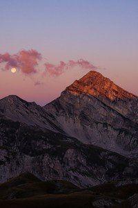 Evening View Mountains Landscape 5k Wallpaper Nature Hd Amazing
