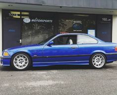 @ahartenfels with the clean e36. #bmw #bmwnation #e36 #teamgold #iscsuspension #bimmer