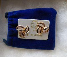 $13.00 Arte Bijouterias E-18 Kilates Earrings (12315-2020MS) jewelry, fashion #Stud
