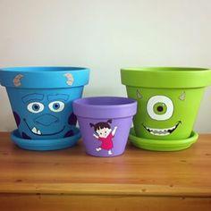 Flower Pot Art, Flower Pot Design, Clay Flower Pots, Flower Pot Crafts, Clay Pot Crafts, Clay Pots, Flower Pot People, Clay Pot People, Painted Plant Pots