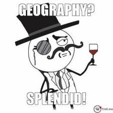 Bilderesultat for geography meme