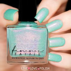 Femme Fatale Dropping Through Sky Nail Polish (Blogger Collab Collection) (PRE-ORDER SHIP DATE 11/4/16)