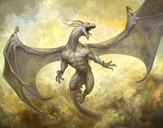Dragón albino