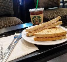 Americano on ice with Tuna Sandwhich... At #starbucksthailand  #Starbucks #Coffee #Sandwhich #food #foodphoto #晚餐 #아침식사 #朝食 #ランチ #夕食 #早餐 #맛있는 #旅遊 #旅 #레스토랑 #餐廳 #foodphotography #wongnai #tripadvisor #travelthailand #aroii #foodporn #instafood #foodstagram#foodblogger #foodie