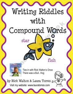 Learn language arts skills with humor! Writing Riddles with compound words. Lesson plan, worksheets, handouts and a powerpoint!  $4.25