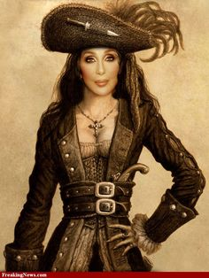 cher photos | Pirate Cher Pictures - Strange Pics - Freaking News