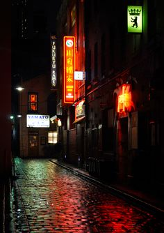'Fukuryu'. Corrs Lane, Melbourne. © G.C. Campbell.