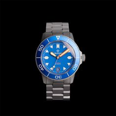 The all-new Tugela Super Blue LE on bead-blasted bracelet.  Nothing says 'I like to hit the water' more than an all blue watch 😁. Also comes with a matching blue zulu strap. The Tugela is available now at drakenwatches.com  #drakenwatches #draken #tacticalgear #watchuseek #adventure #explorer #outdoorequipment #microbrand #diver #divewatch #edc #mountaineering #wristporn #dailywatch #watchfam #watchcollector #toolwatch #automaticwatch